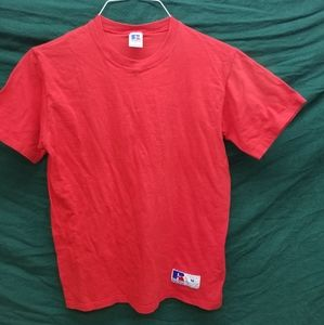 Russell Athletic Shirts - Vintage Russell Athletic Basic Tee S M Made In USA